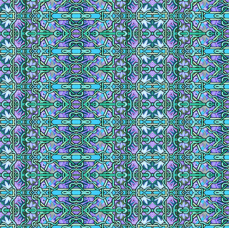 Blue and Blue and more Blue fabric by edsel2084 on Spoonflower - custom fabric