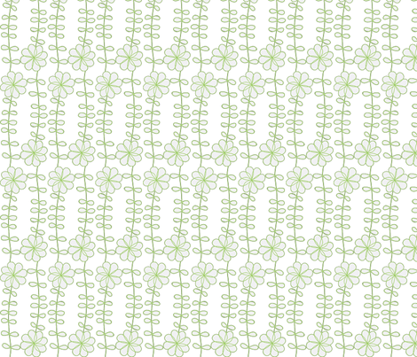 CHRISTMAS_TULIPS-ch fabric by studio30 on Spoonflower - custom fabric