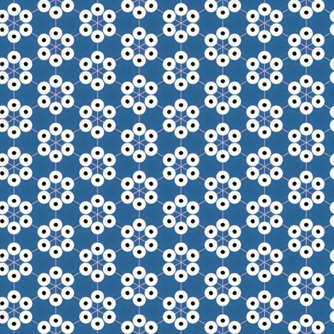 Blue Eyes fabric by stoflab on Spoonflower - custom fabric