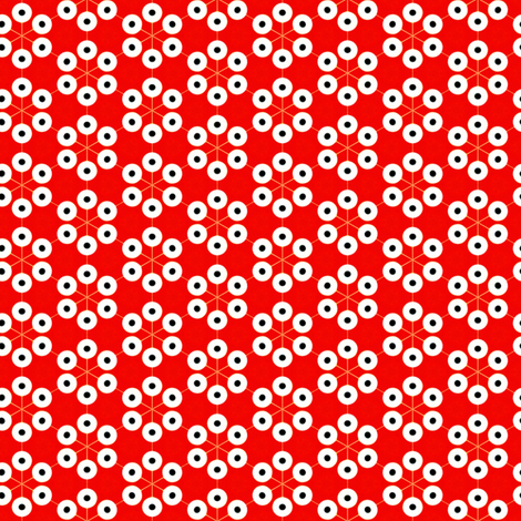 Red eyes fabric by stoflab on Spoonflower - custom fabric