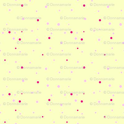 Valentine's Day Polka Dots