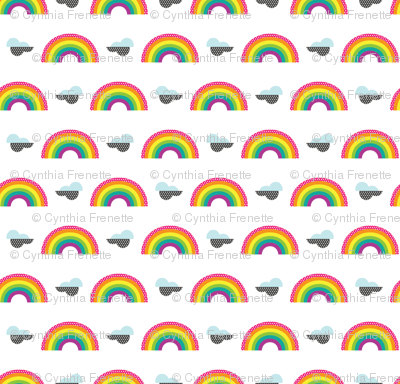 Mini Rainbow Stickers