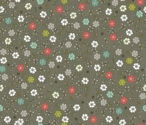 Ditzy Doodle fabric by cynthiafrenette on Spoonflower - custom fabric