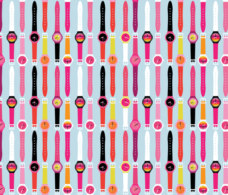 Time for Cool! fabric by cynthiafrenette on Spoonflower - custom fabric