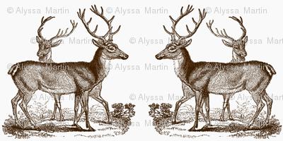 Vintage Deer