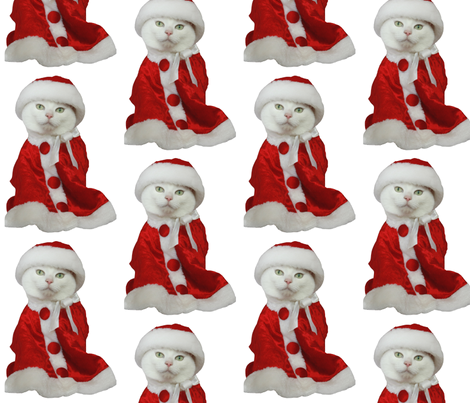 Merry Missy  fabric by myrtieshuman on Spoonflower - custom fabric