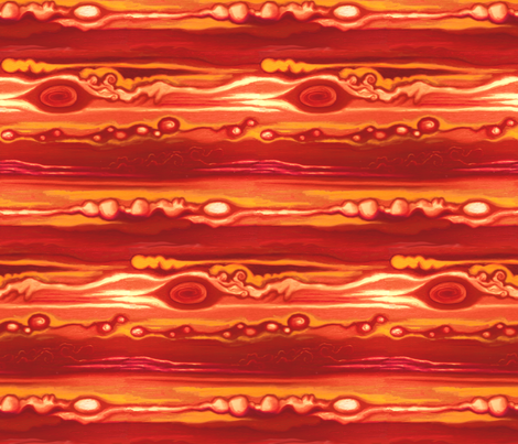 Jupiter fabric by sufficiency on Spoonflower - custom fabric