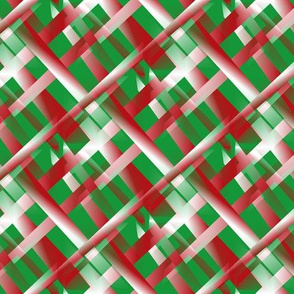 red_stacks_white_rods_on_green_background