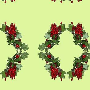 wreath of berries - large