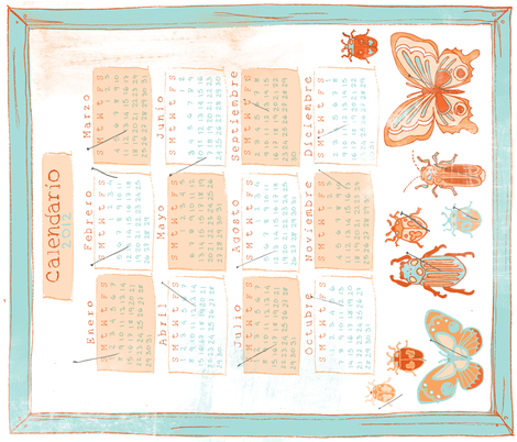 calendar_Contest_3 fabric by siplbunny on Spoonflower - custom fabric