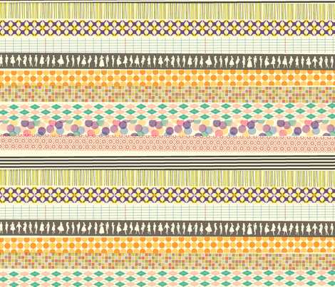 Washi Tape fabric by pennycandy on Spoonflower - custom fabric