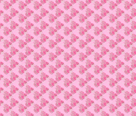 Blossoms vibrant pink fabric by joanmclemore on Spoonflower - custom fabric