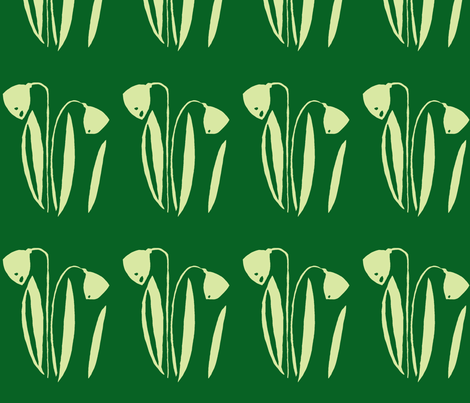 PICT0235_Lilies of the Field-Meadow fabric by josephinefletcher on Spoonflower - custom fabric