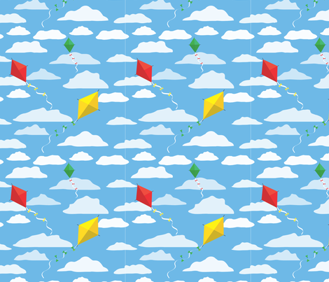 Kite2 fabric by xkateburnsx on Spoonflower - custom fabric