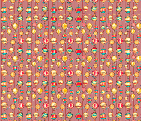 Vintage Circus  fabric by icarpediem_ on Spoonflower - custom fabric