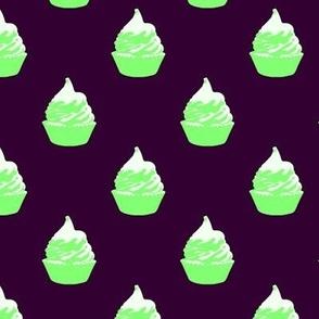 Meringue- Purple & Lime