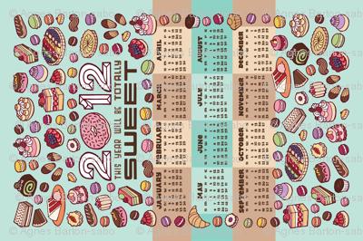 2012 tea towel calendar (for linen)