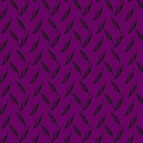feathers-eggplant