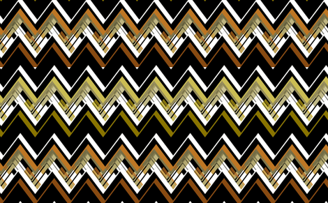 Zig Zag Mod fabric by joanmclemore on Spoonflower - custom fabric