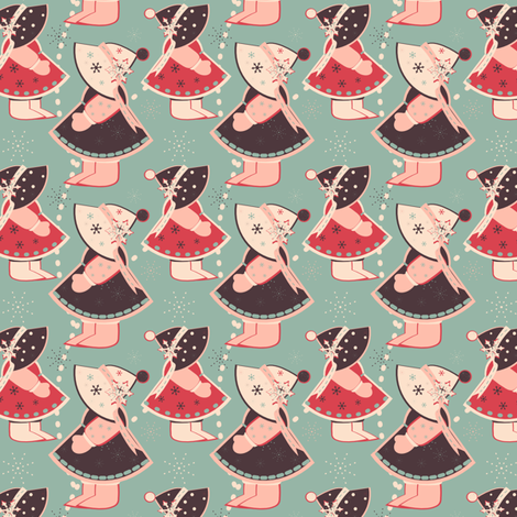 Dutch Holiday fabric by eppiepeppercorn on Spoonflower - custom fabric