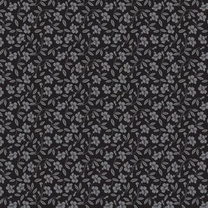 Japanese blossom black