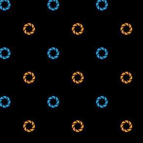 Aperture Dot (black)