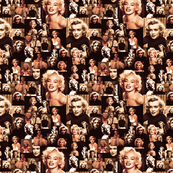 Marilyn Monroe Vintage Collage