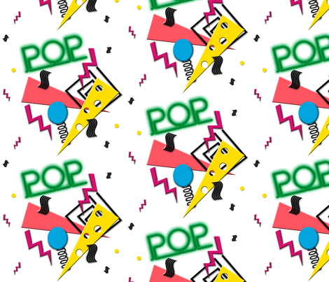 Neon Pop fabric by glanoramay on Spoonflower - custom fabric