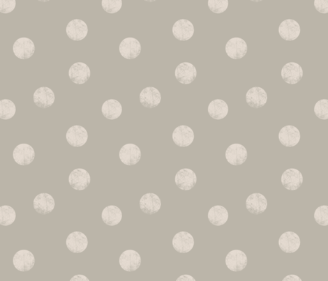 Big_dots_greige fabric by ravynka on Spoonflower - custom fabric