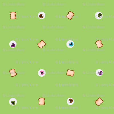 Eyes on Toast in Green