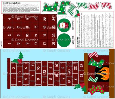 Fire Place Advent Calendar