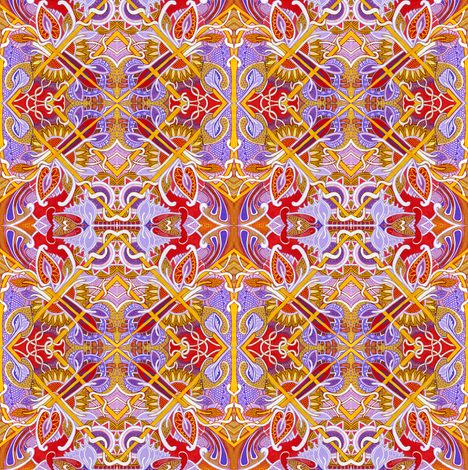 By Her Majesty's Request fabric by edsel2084 on Spoonflower - custom fabric