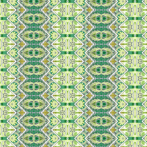 Artichoke Zig Zag fabric by edsel2084 on Spoonflower - custom fabric