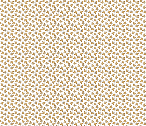 Welsh Corgi - mini white fabric by ms_emilie on Spoonflower - custom fabric
