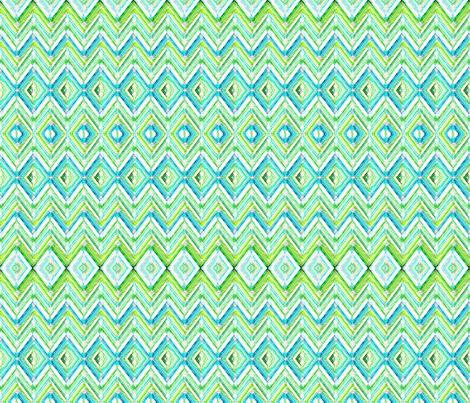 Zig Zag knit in aqua