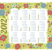 2012 Calendar