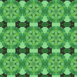 A Celtic Cross kaleidoscoped