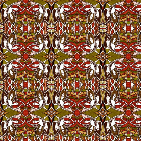 The Day Before the Day Before Christmas fabric by edsel2084 on Spoonflower - custom fabric