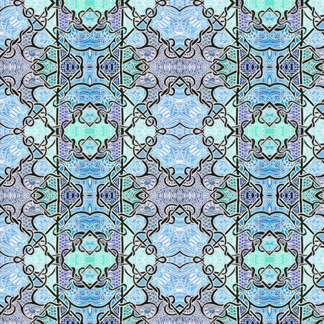 Wrought Iron Fence fabric by edsel2084 on Spoonflower - custom fabric