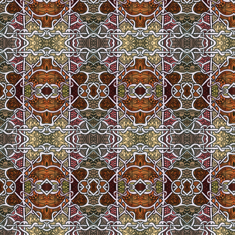 Inca Chocolate fabric by edsel2084 on Spoonflower - custom fabric