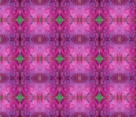 A Feather Heart fabric by akbarbie on Spoonflower - custom fabric