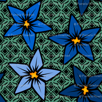 bluegreenfflower