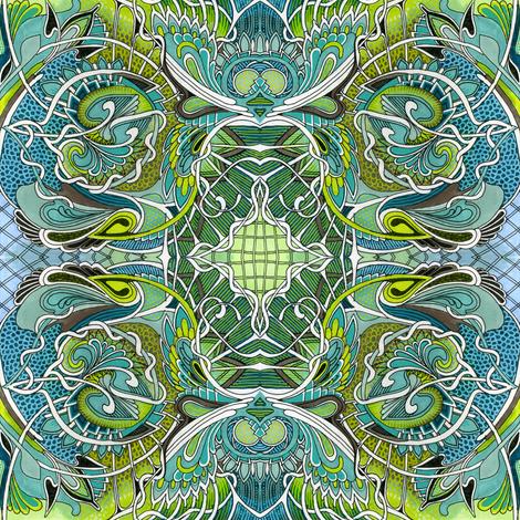 Swirlpool (medium scale) fabric by edsel2084 on Spoonflower - custom fabric