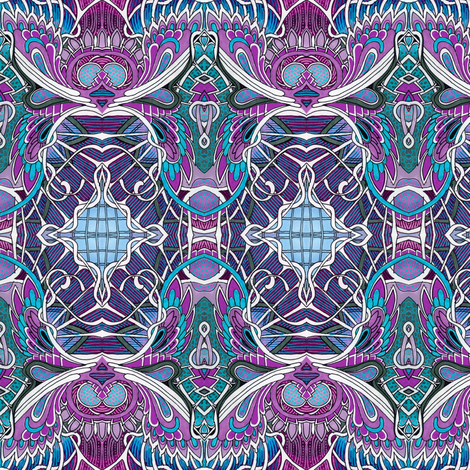 When I Woke Up I Saw I Was a Fly fabric by edsel2084 on Spoonflower - custom fabric