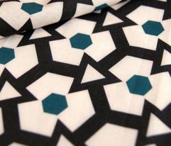 Retro Hexagons & Triangles