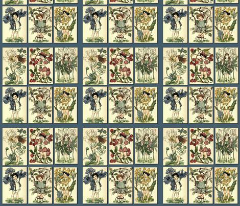 Vintage Garden  fabric by icarpediem on Spoonflower - custom fabric