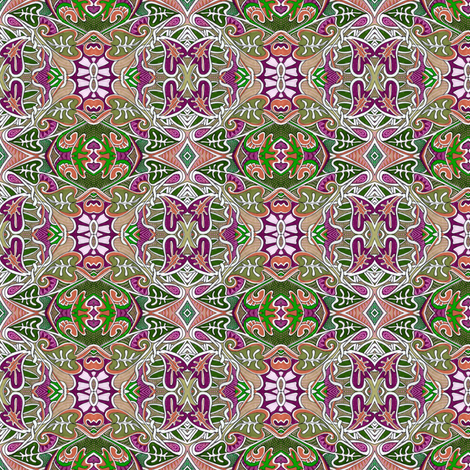 I'm Dreaming of a Purple Christmas fabric by edsel2084 on Spoonflower - custom fabric