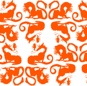 Orange Dragons
