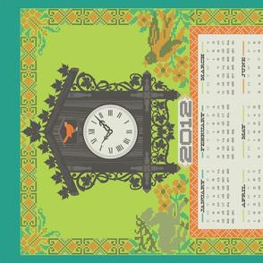 2012 Linen-cotton calendar