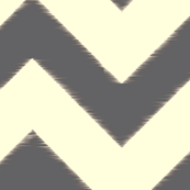 grey ikat chevron